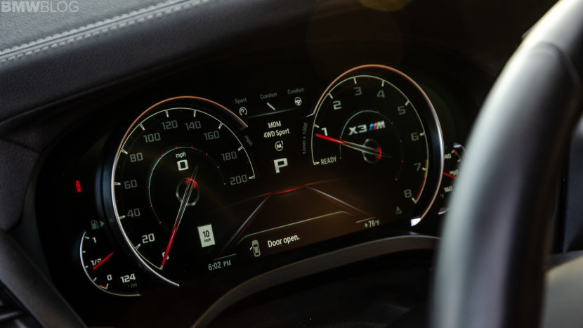 Video: X3 M Competition goes for top speed run, beats BMW claims