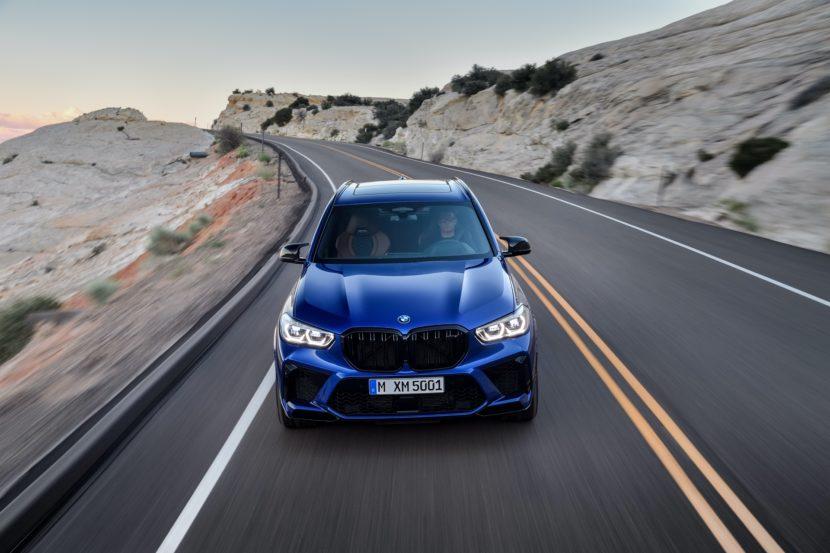 BMW X5 M Competition exterior design 1 830x553