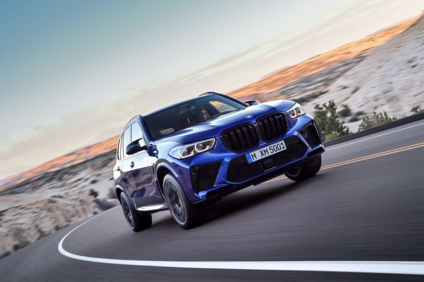 BMW X5 M Competition exterior design 14 830x553