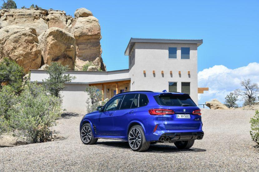 BMW X5 M Competition exterior design 30 830x553