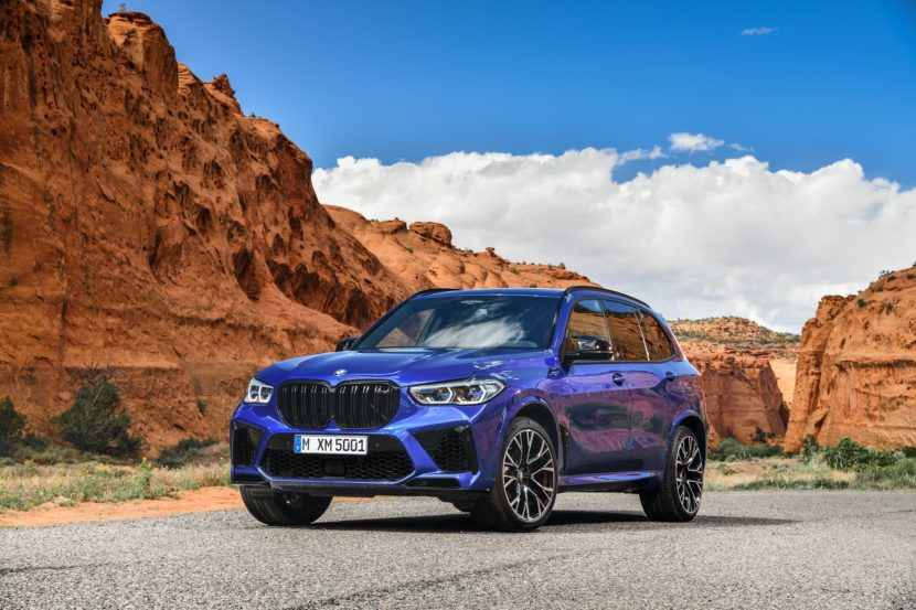 BMW X5 M Competition exterior design 38 830x553