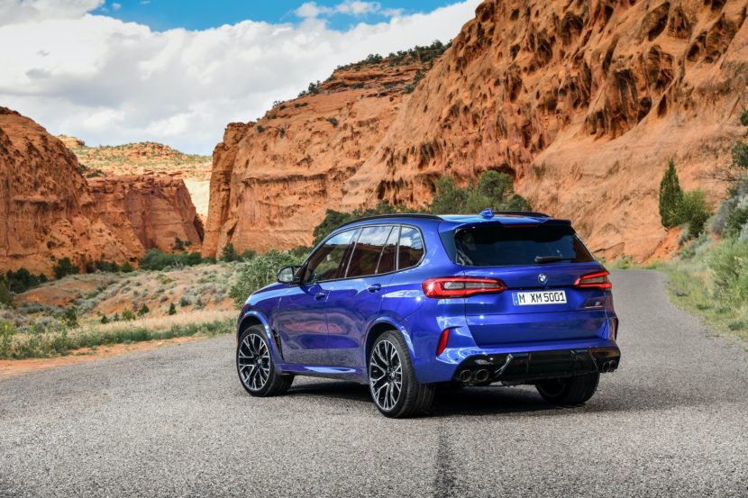BMW X5 M Competition exterior design 39 830x553