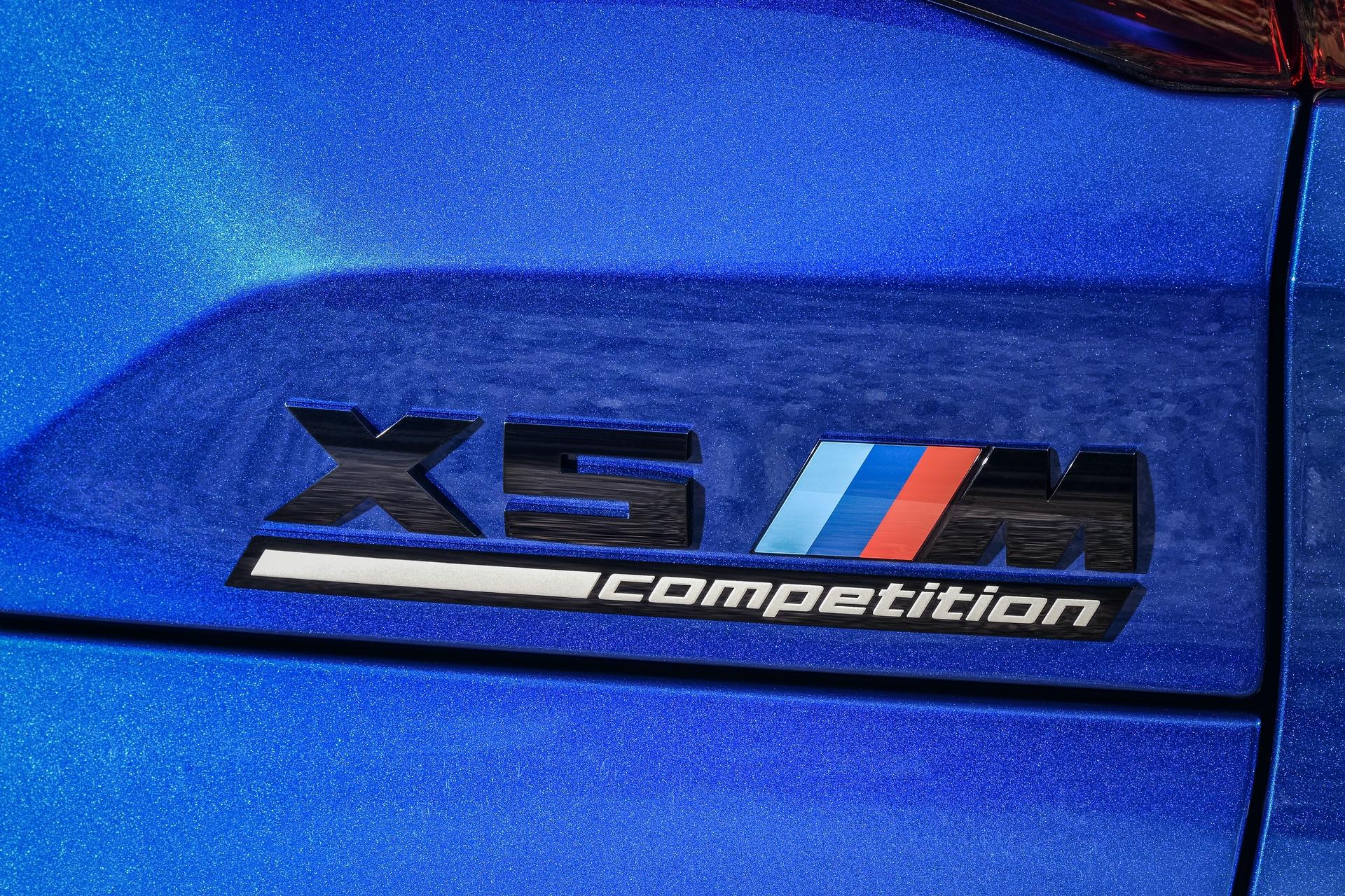 BMW X5 M Competition exterior design 47