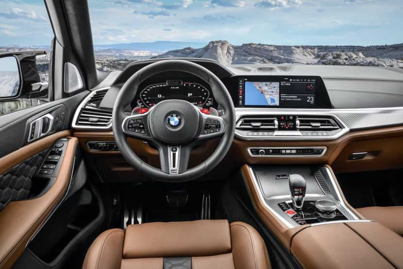 BMW X5 M Competition interior design 1 830x553