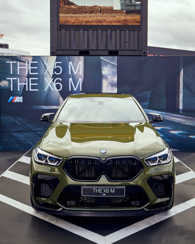 BMW X5 M X6 M at Hockenheim 5 664x830