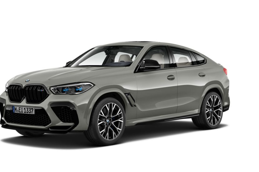 BMW X6 M Competition F96 Donington Gray 2 830x553