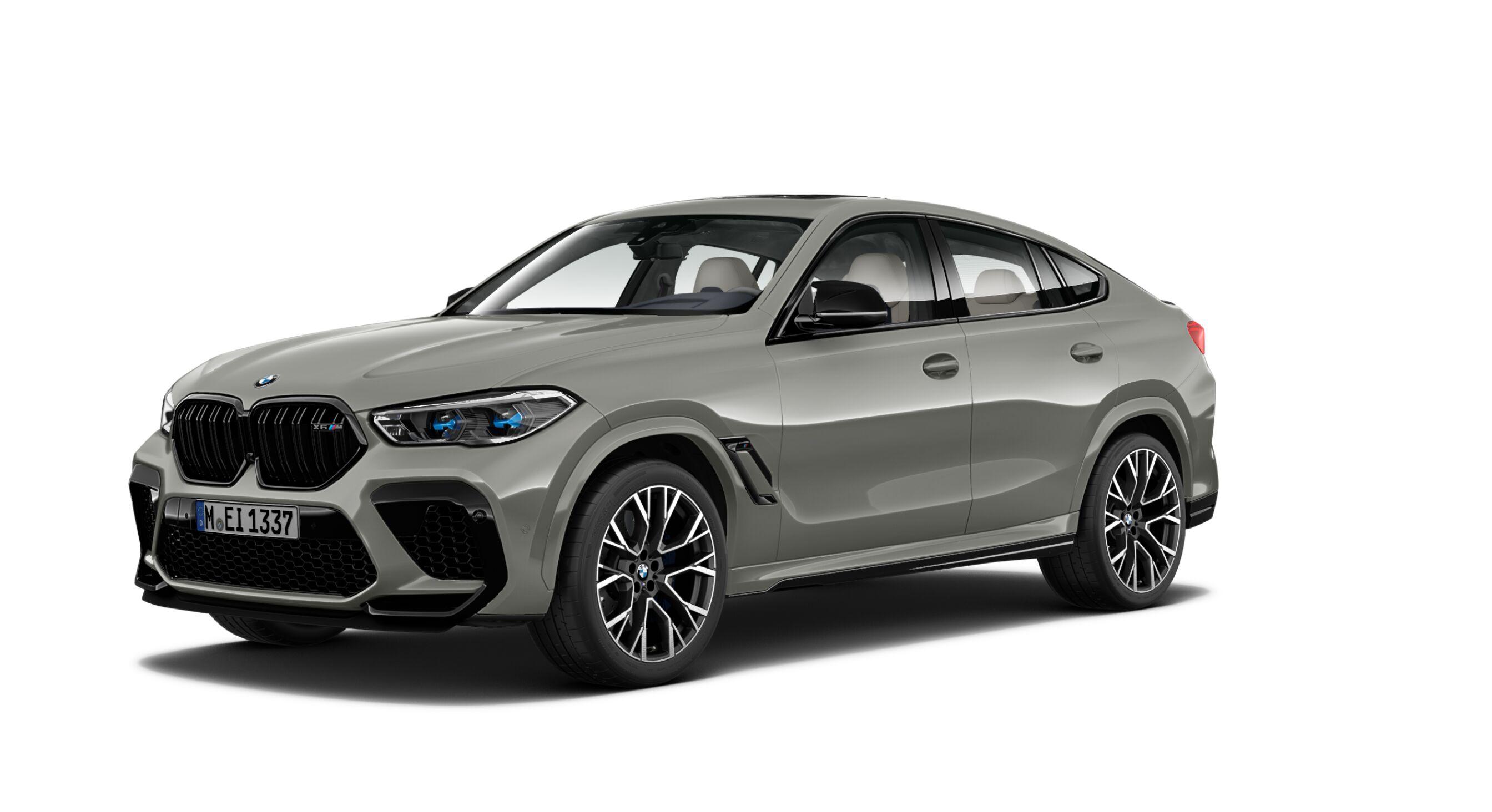 BMW X6 M Competition F96 Donington Gray 2