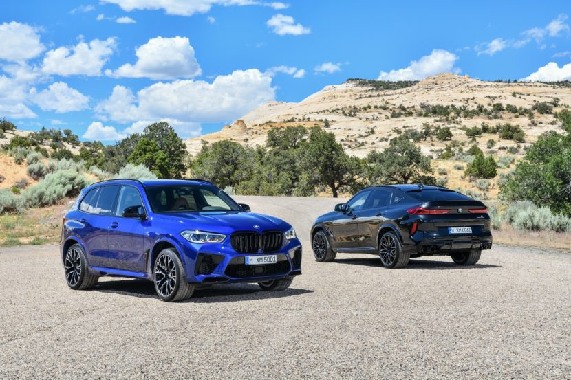 BMW X6 M Competition X5 M Competition 4 830x553