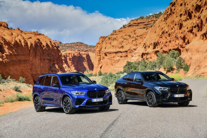 BMW X6 M Competition X5 M Competition 5 830x553