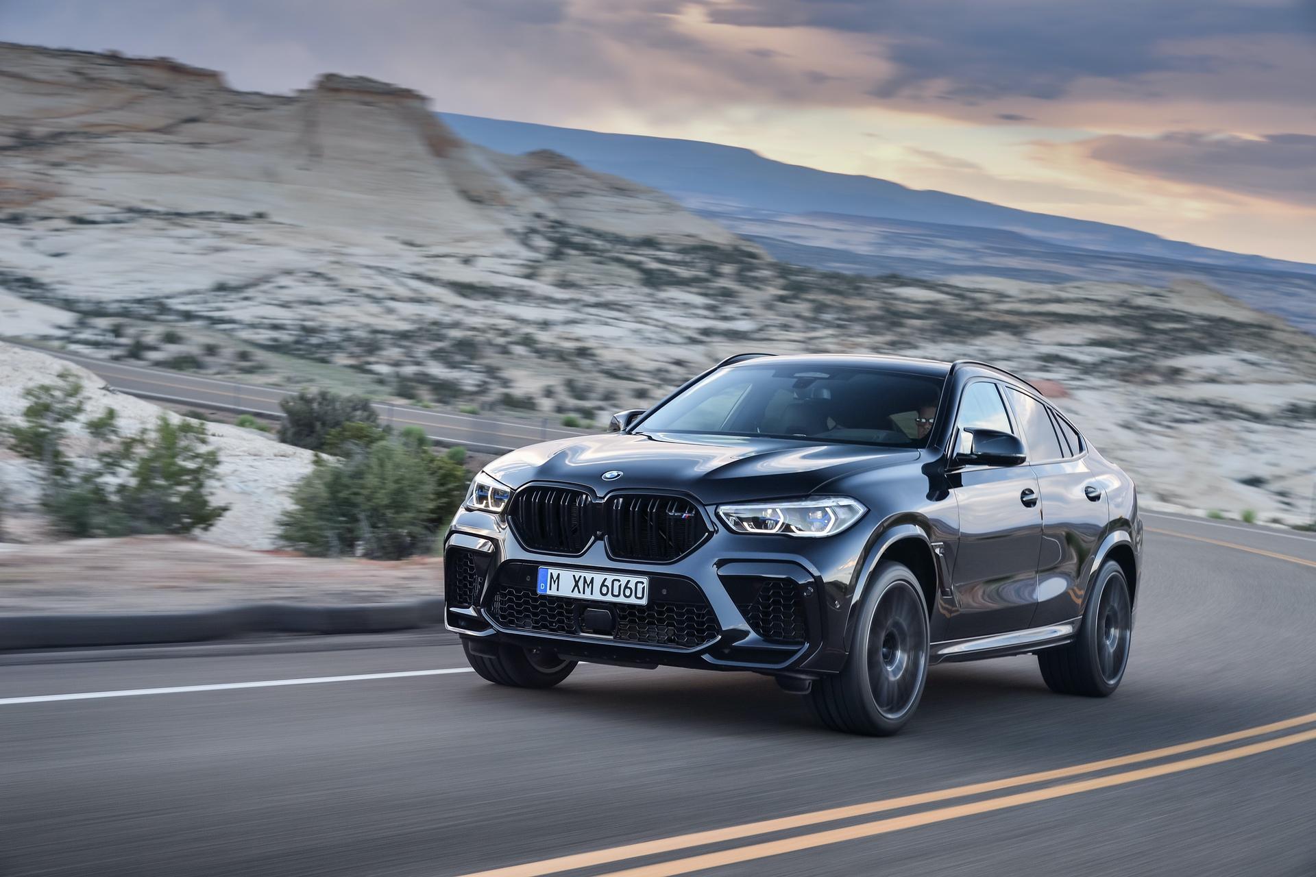 BMW X6 M Competition exterior design 2