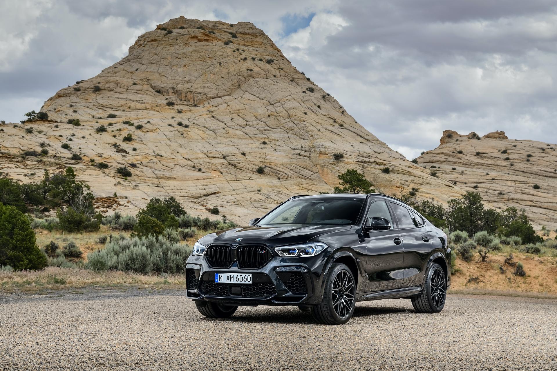 BMW X6 M Competition exterior design 26