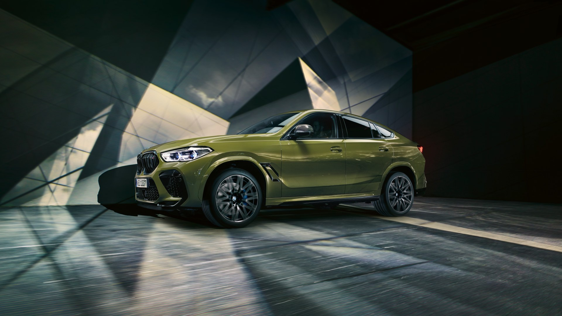BMW X6 M Urban Green 3