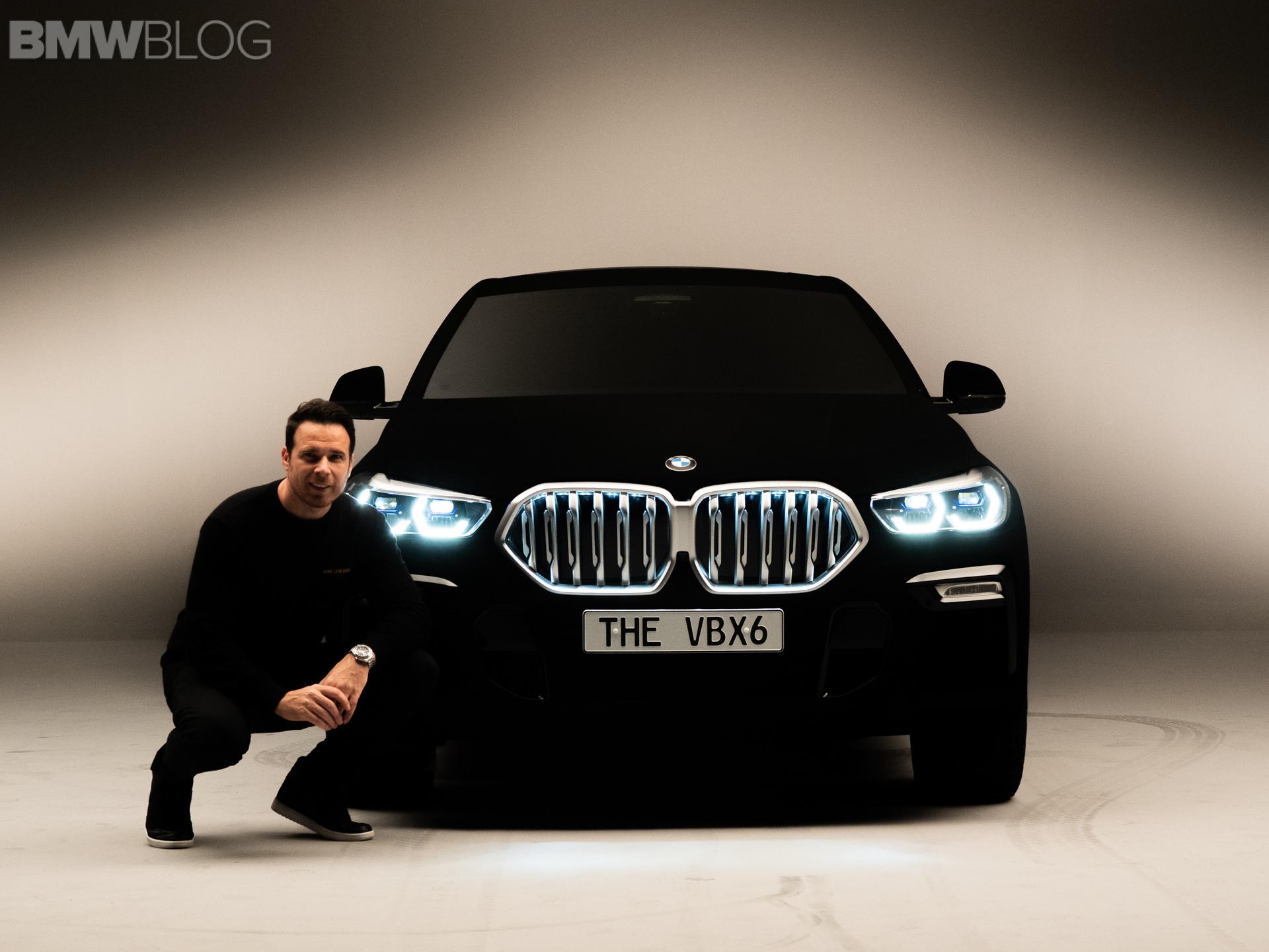 BMW X6 vantablack image 65