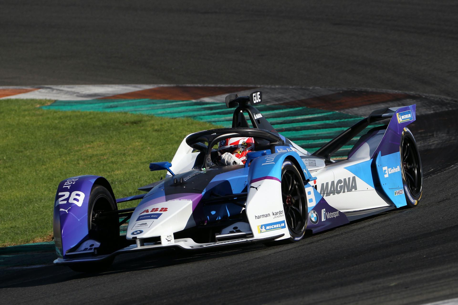 BMW i Motorsport Valencia 1