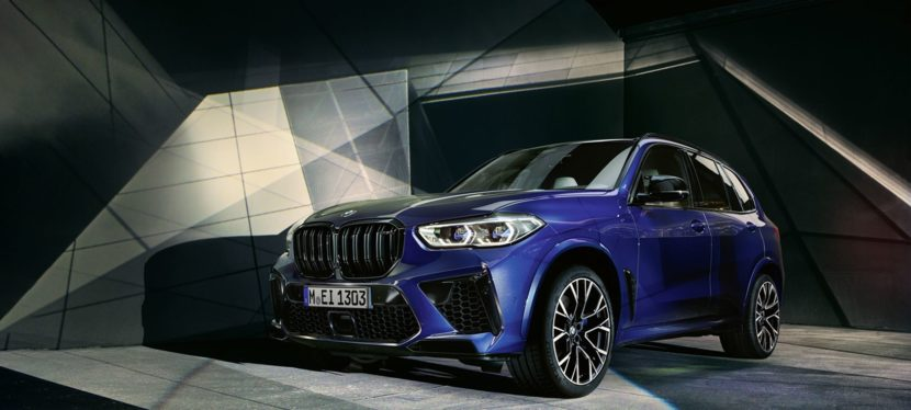 HOT: Further photos of the new X5 M Competition (F95)