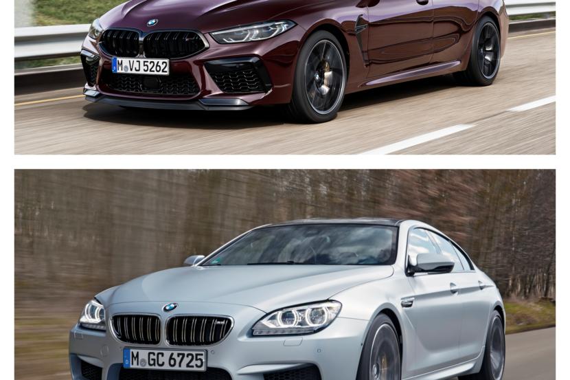 M8 Gran Coupe vs. M6 Gran Coupe 1 830x553
