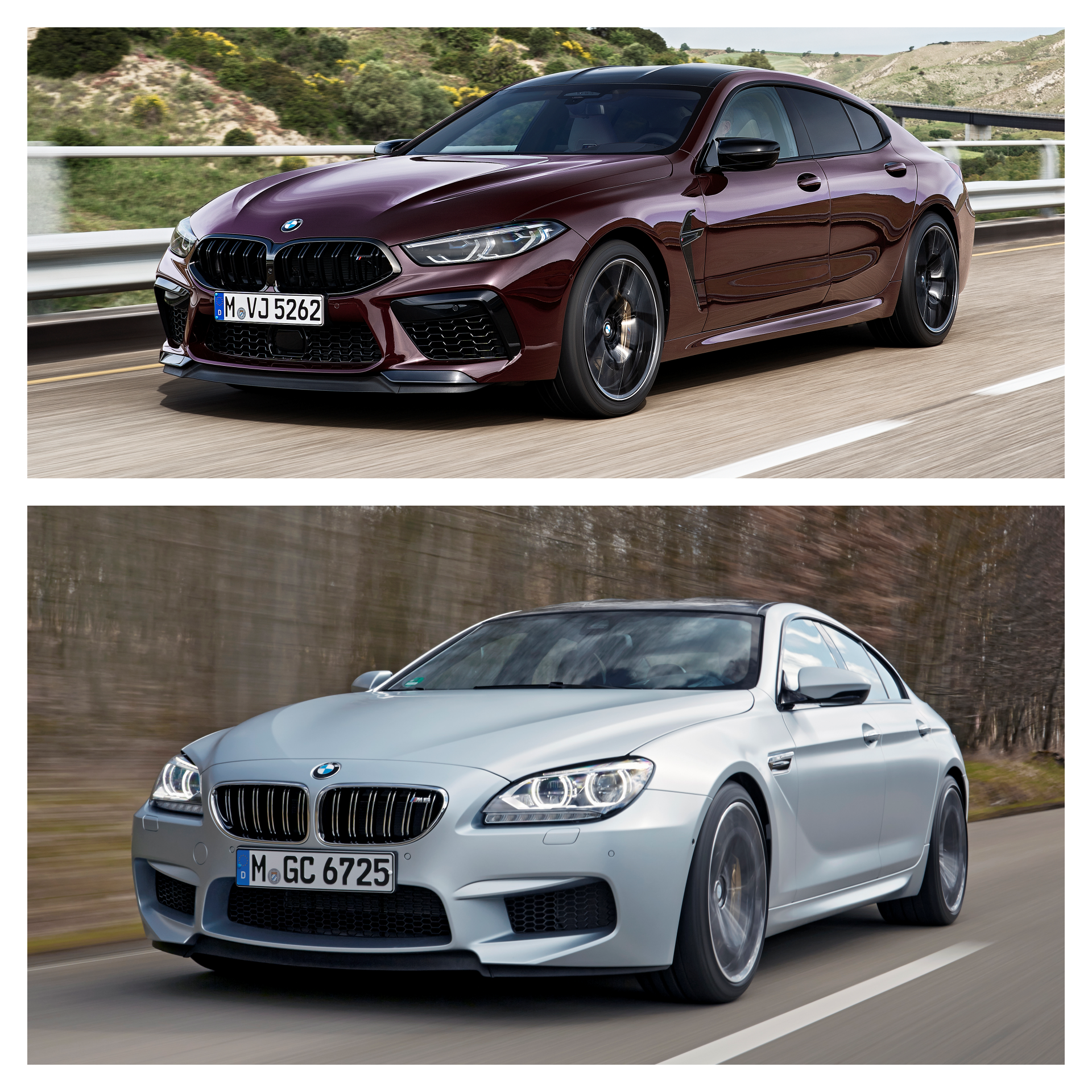 M8 Gran Coupe vs. M6 Gran Coupe 1