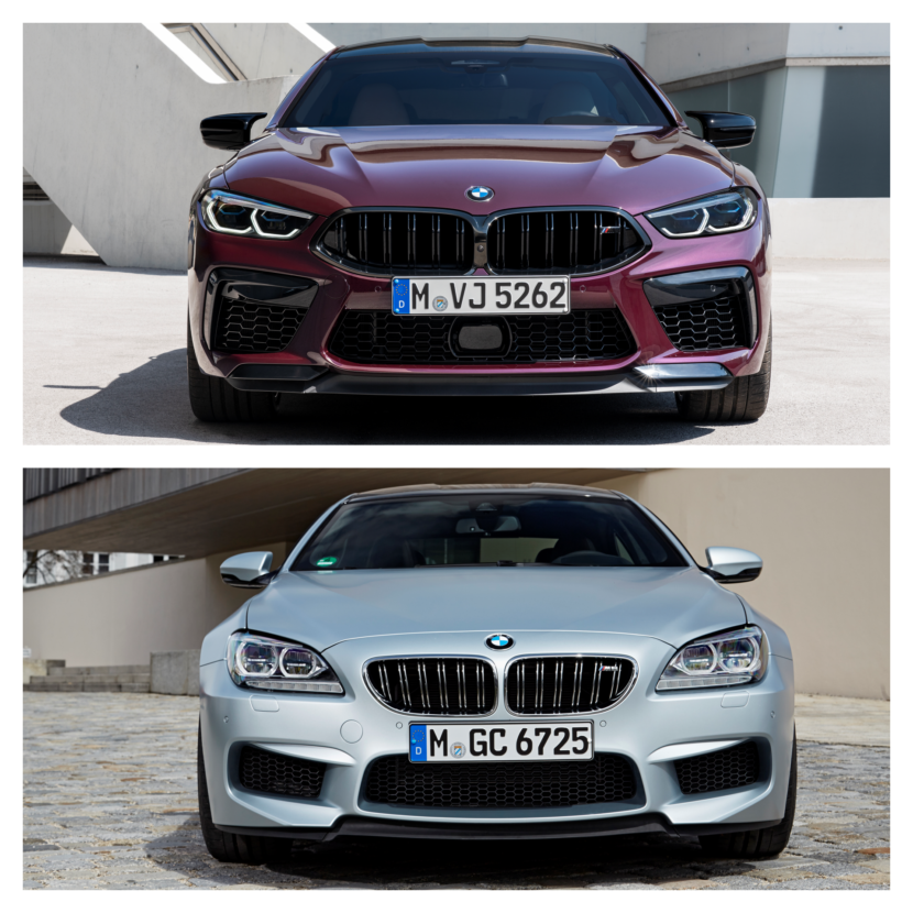 M8 Gran Coupe vs. M6 Gran Coupe 3 830x830