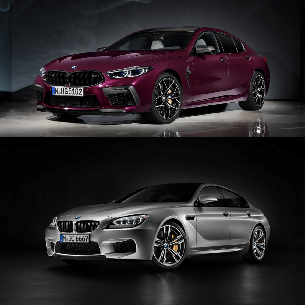 Bmw M8 Gran Coupe Vs Bmw M6 Gran Coupe Comparison