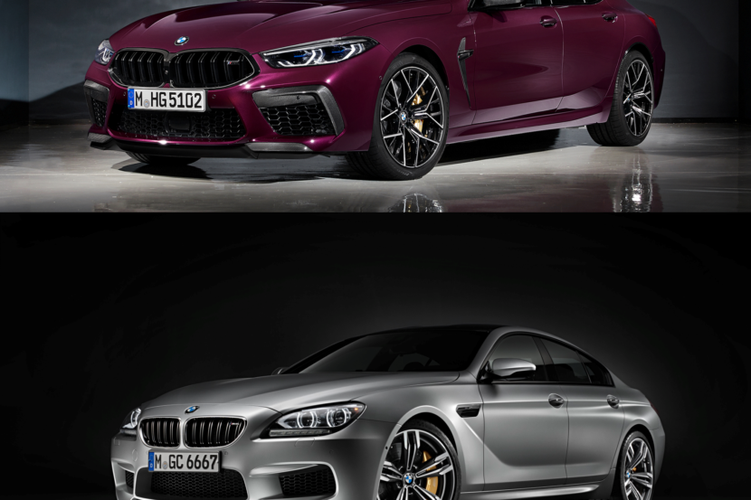M8 Gran Coupe vs. M6 Gran Coupe 7 830x553