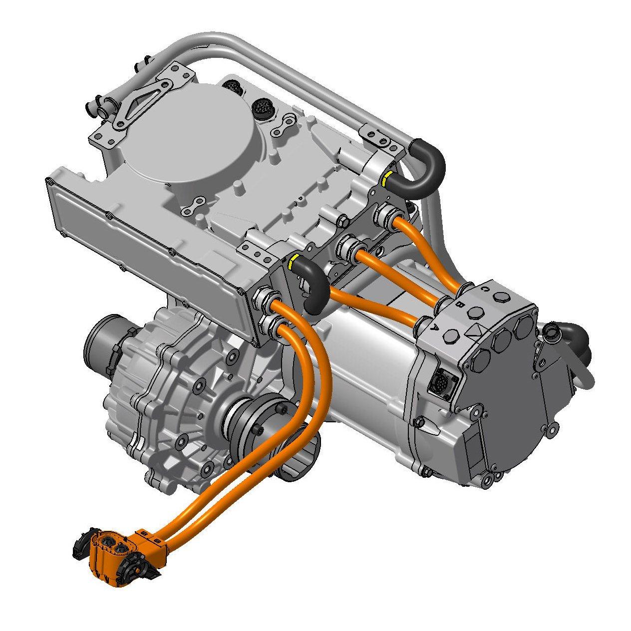 Swindon Powertrains EV Crate Motor