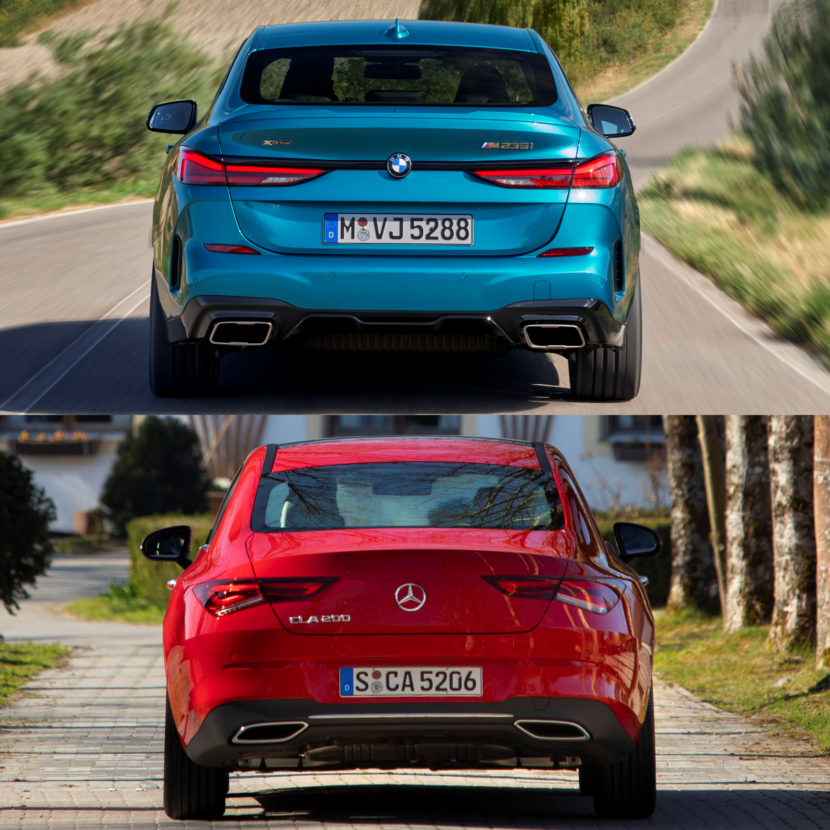 BMW 2 Series Gran Coupé (F44) Fights Back At The Mercedes