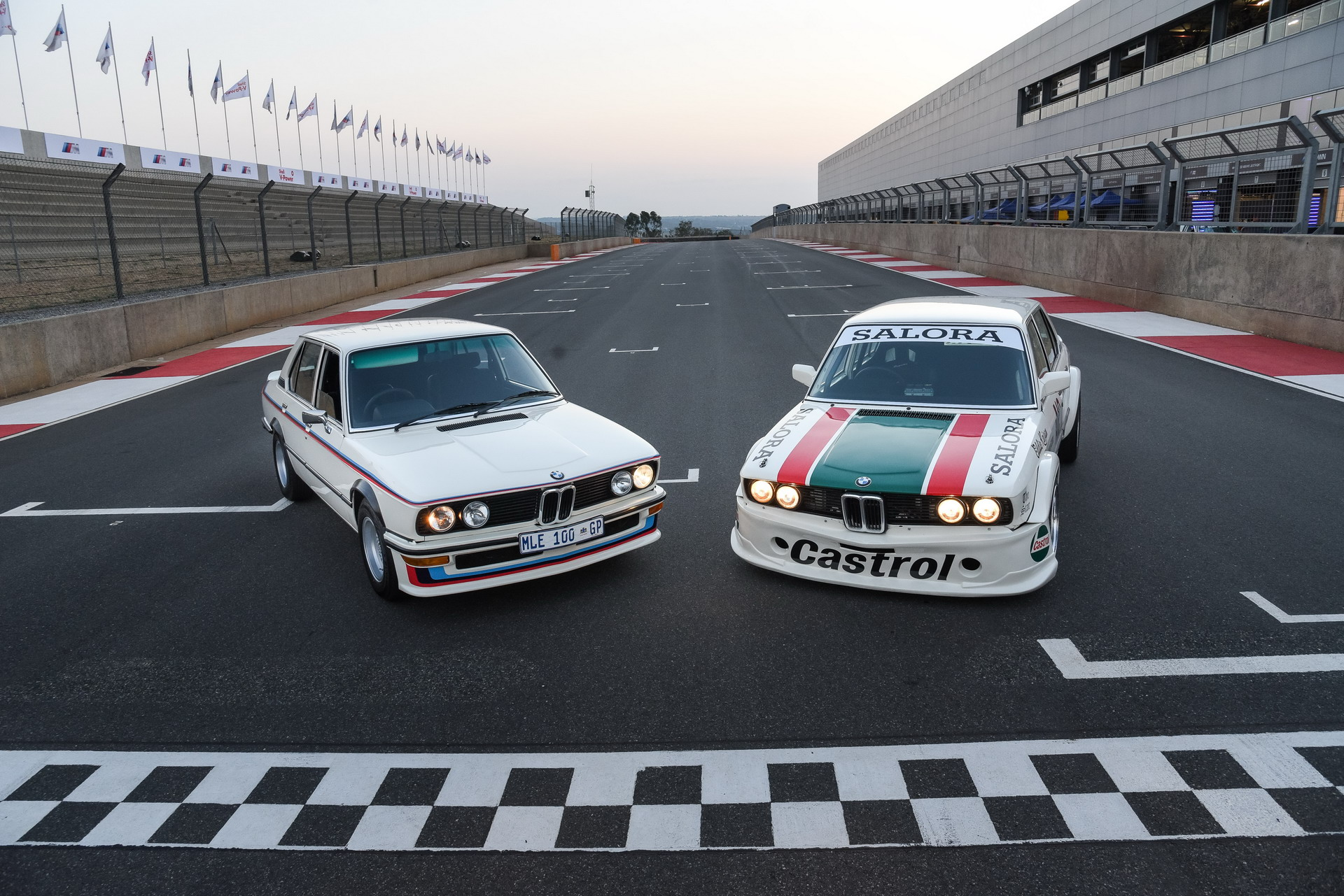 The racing BMW 530 MLE 21