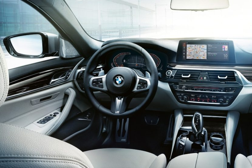 bmw 5 series dashboard update 830x553