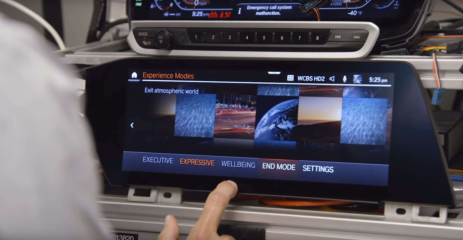 bmw experience modes