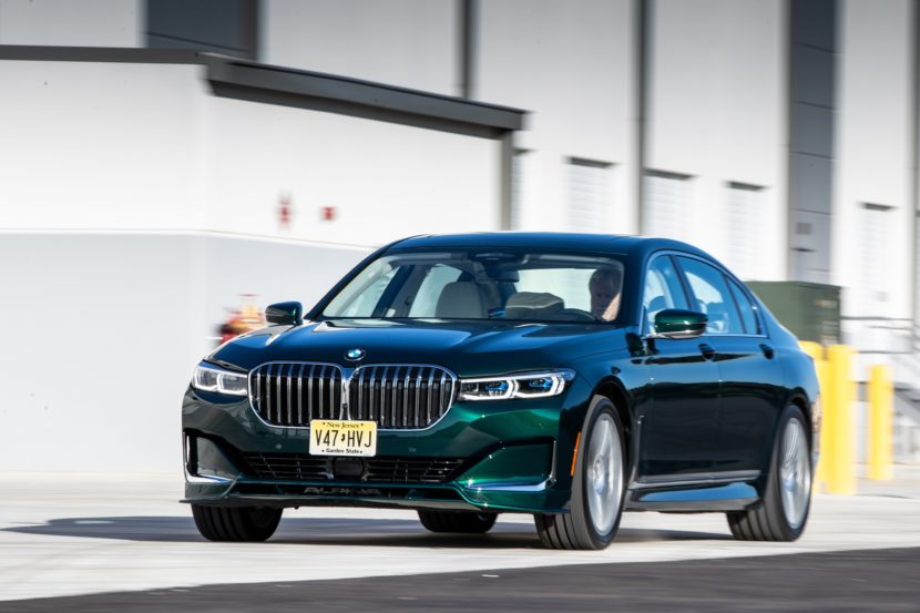 Bmw 7 Series 2020 Green