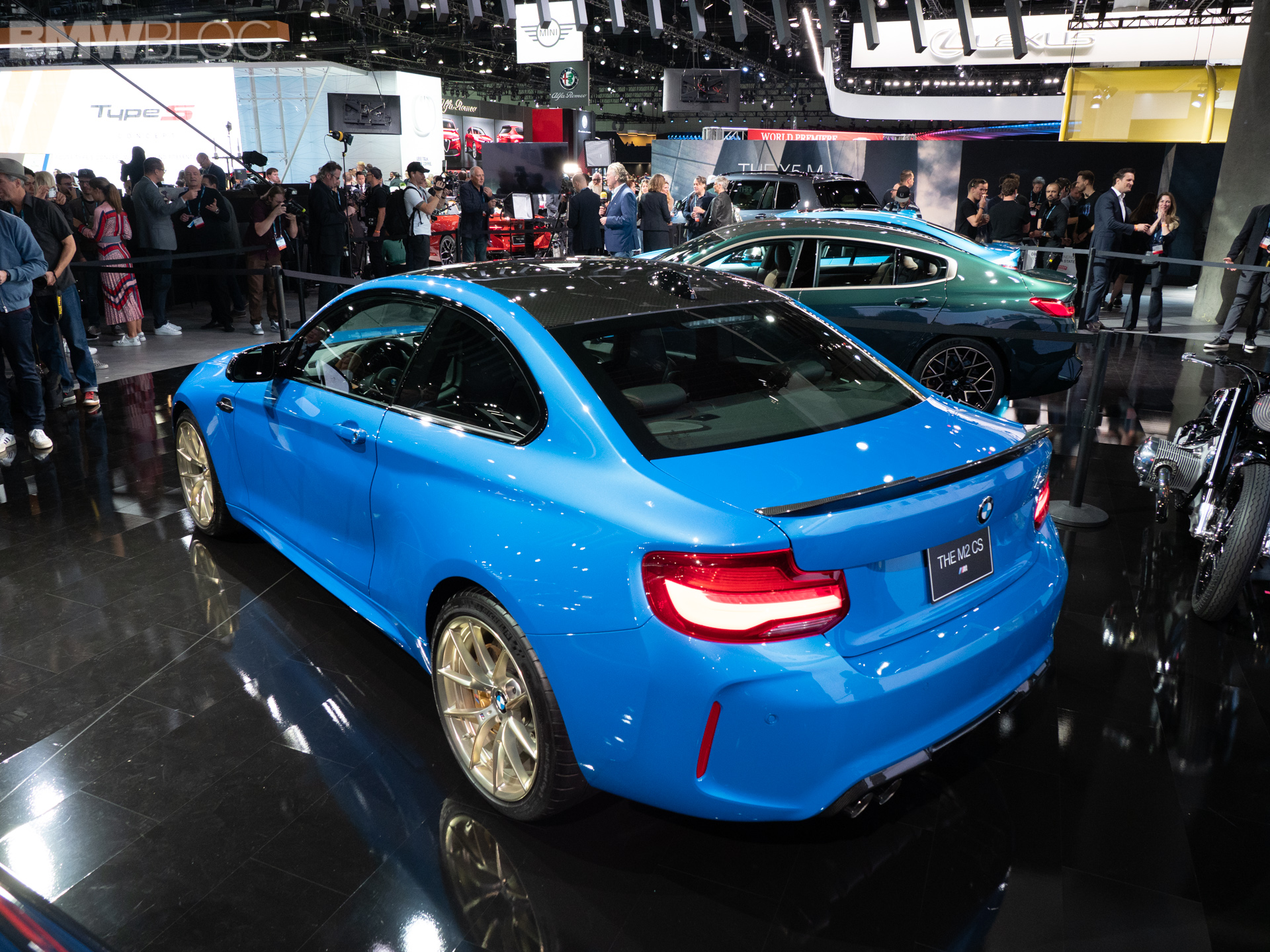 2020 BMW M2 CS photos 10