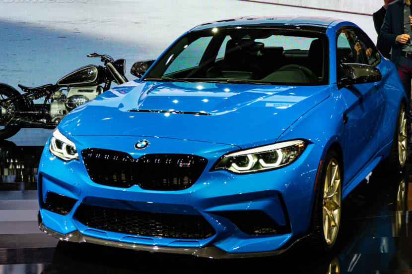 2020 BMW M2 CS photos 39 830x553