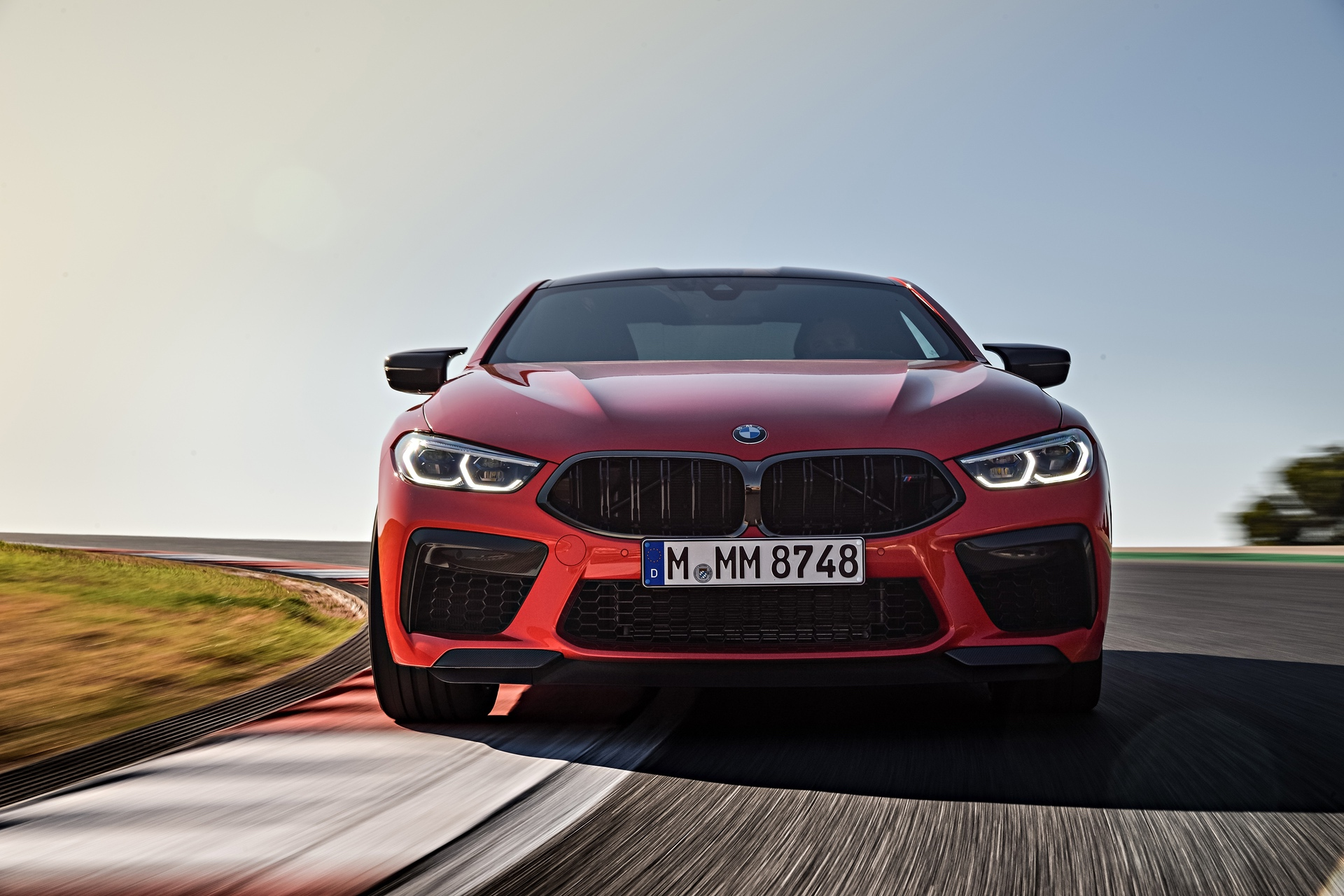 2020 BMW M8 Competition Coupe Fire Red 14
