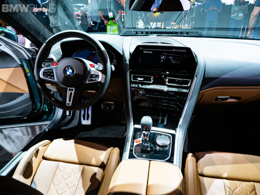 2020 BMW M8 GRAN COUPE FIRST EDITION interior 7 830x623