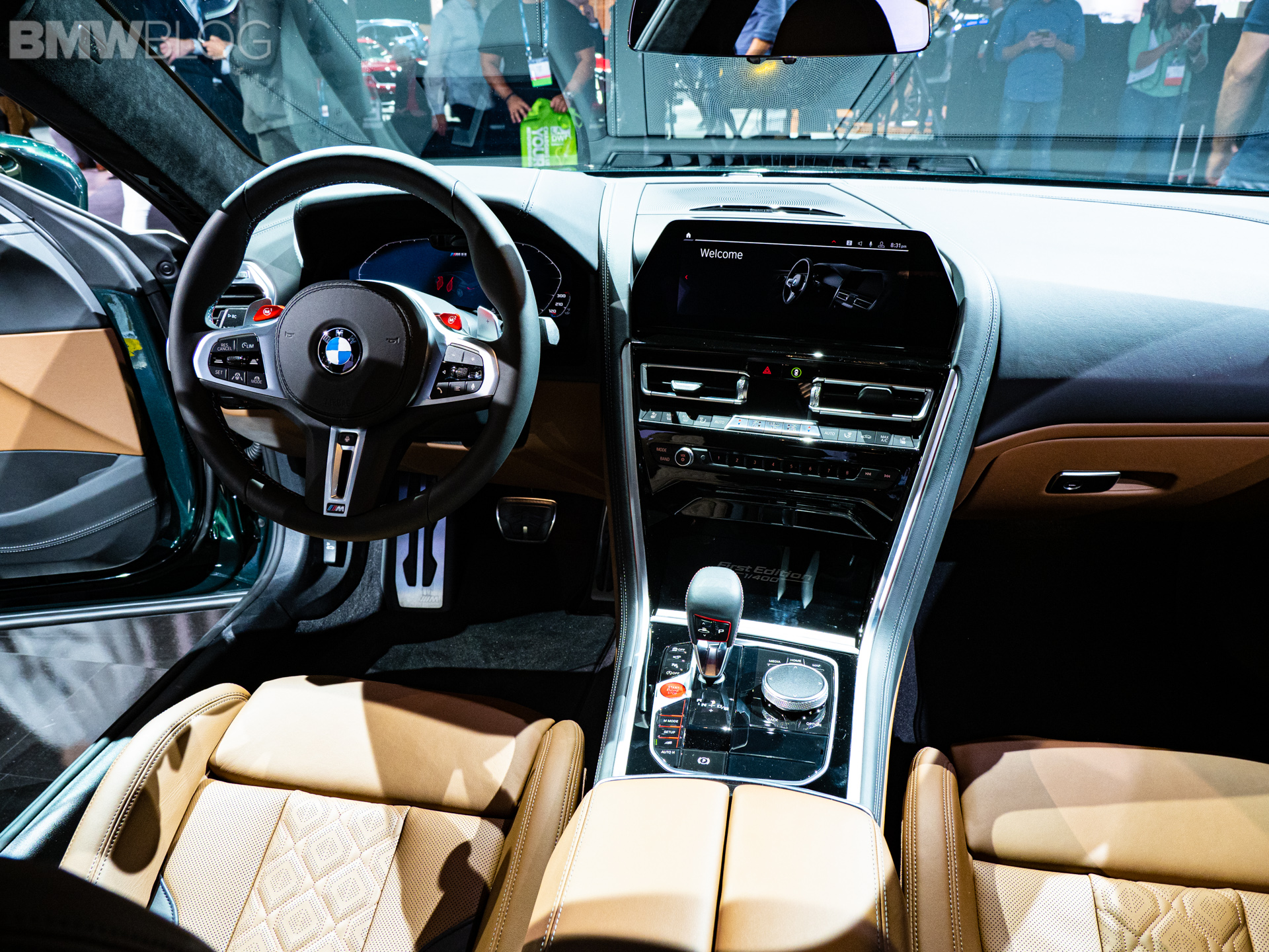 Bmw M8 Gran Coupe First Edition In Aurora Diamant Green Metallic