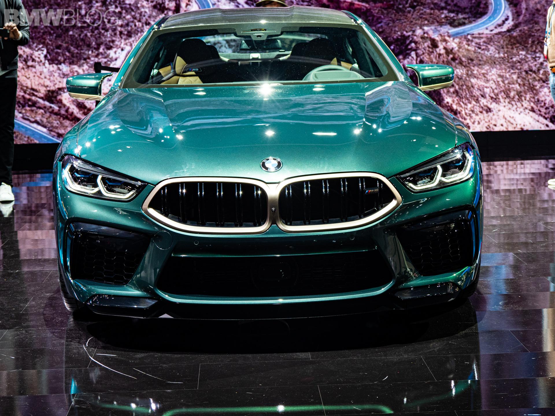 2020 BMW M8 Gran Coupe Aurora Diamant Green Metallic 12