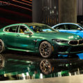 2020 BMW M8 Gran Coupe Aurora Diamant Green Metallic 13 120x120