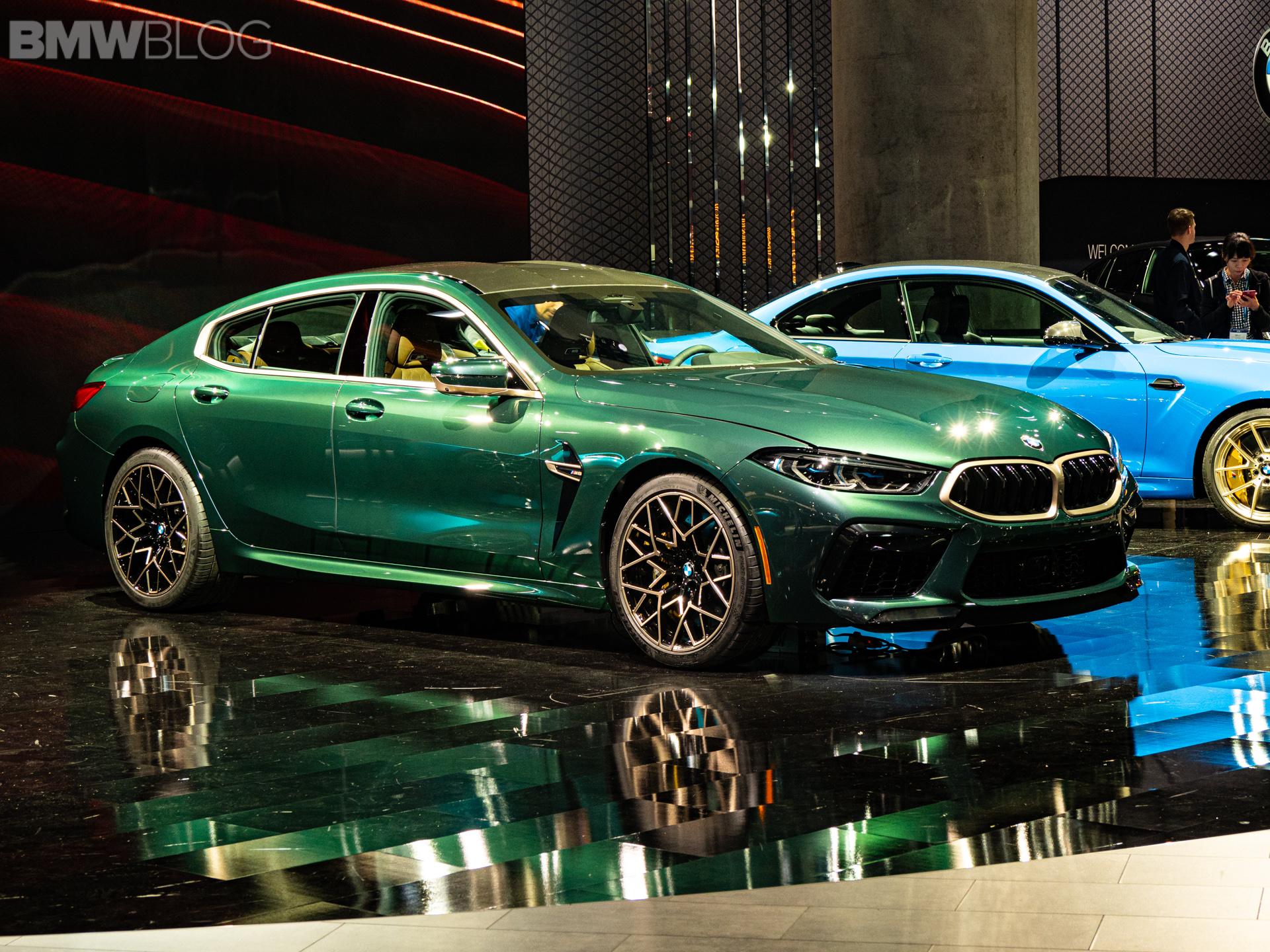 2020 BMW M8 Gran Coupe Aurora Diamant Green Metallic 13