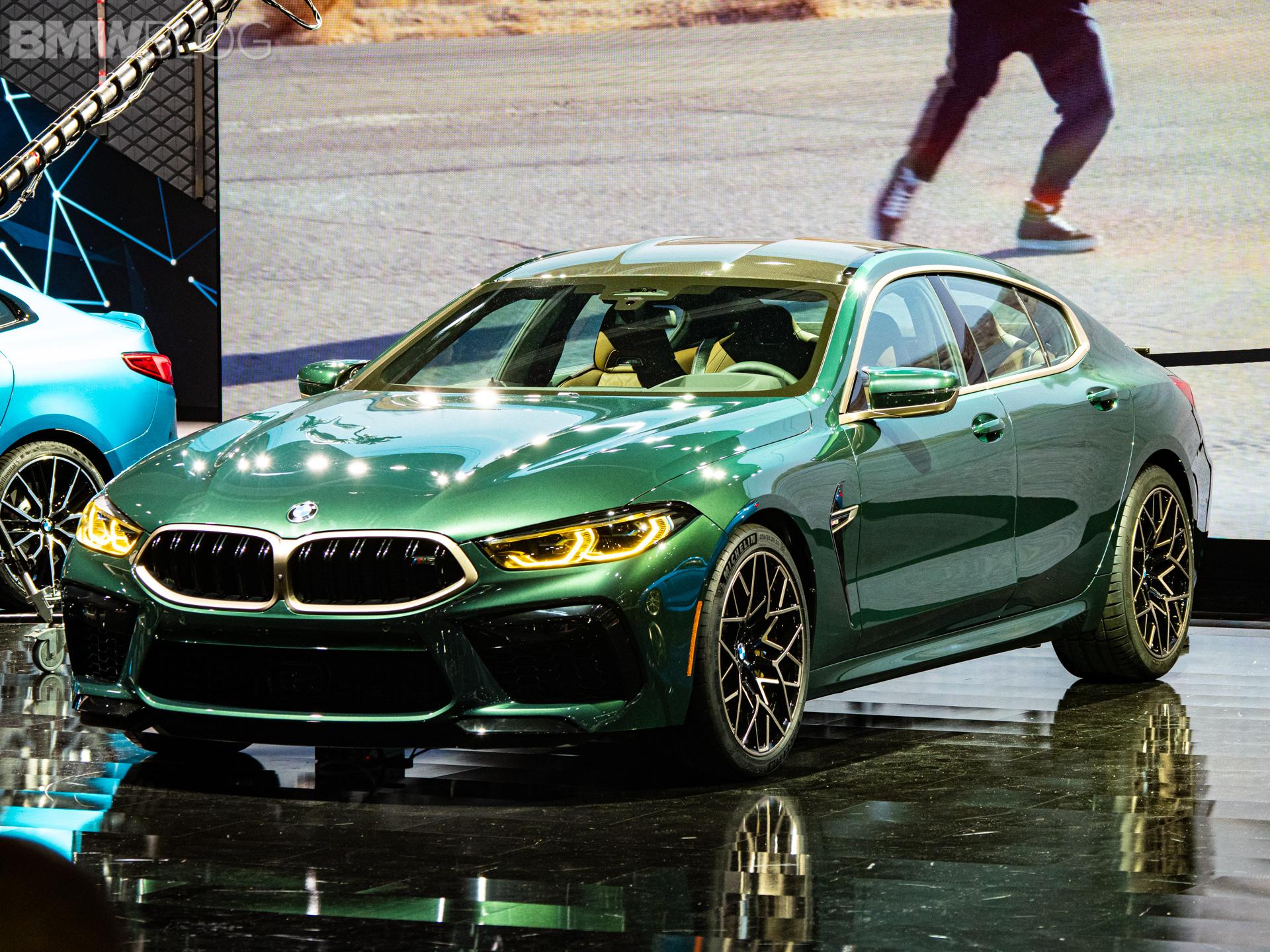 2020 BMW M8 Gran Coupe Aurora Diamant Green Metallic 7