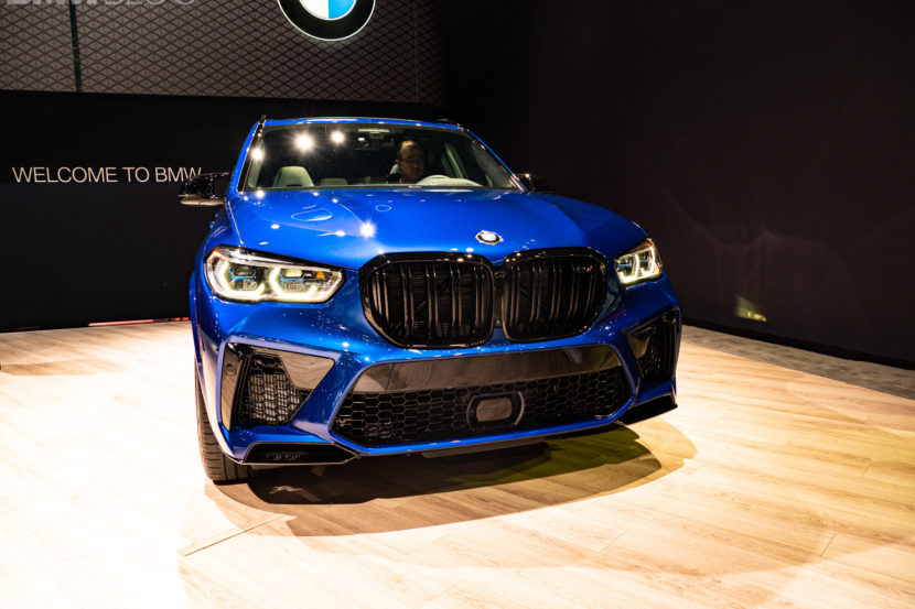 2020 BMW X5 M COMPETITION LA AUTO SHOW 3 830x553