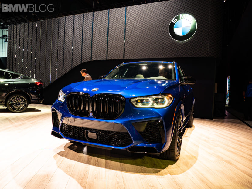 2020 BMW X5 M COMPETITION LA AUTO SHOW 4 830x623
