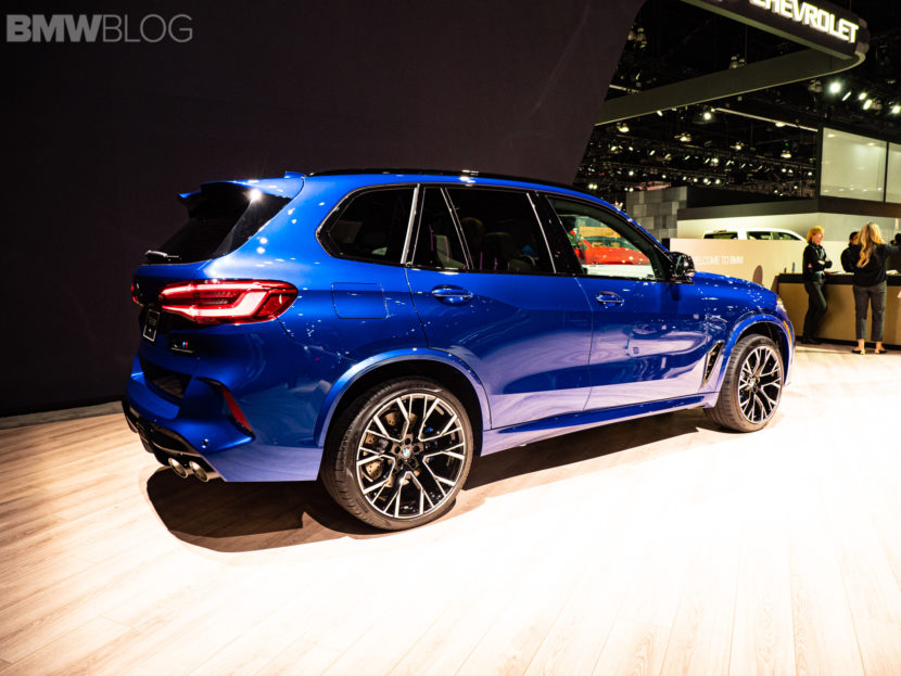 2020 BMW X5 M COMPETITION LA AUTO SHOW 6 830x623