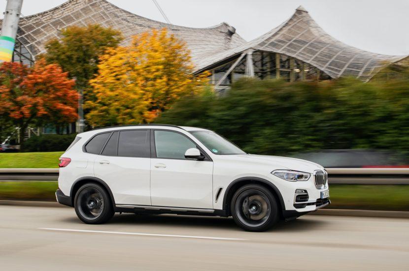 2020 BMW X5 xDrive45e test drive 43 830x551