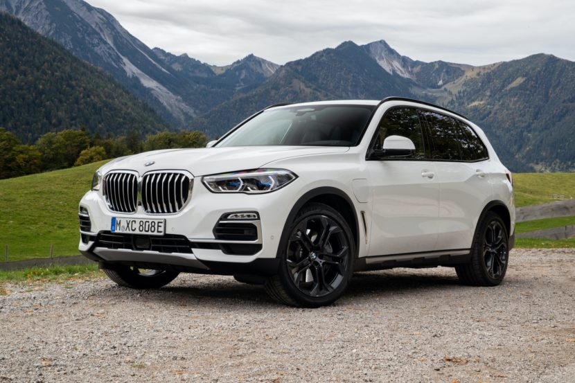 2020 BMW X5 xDrive45e test drive 53 830x553