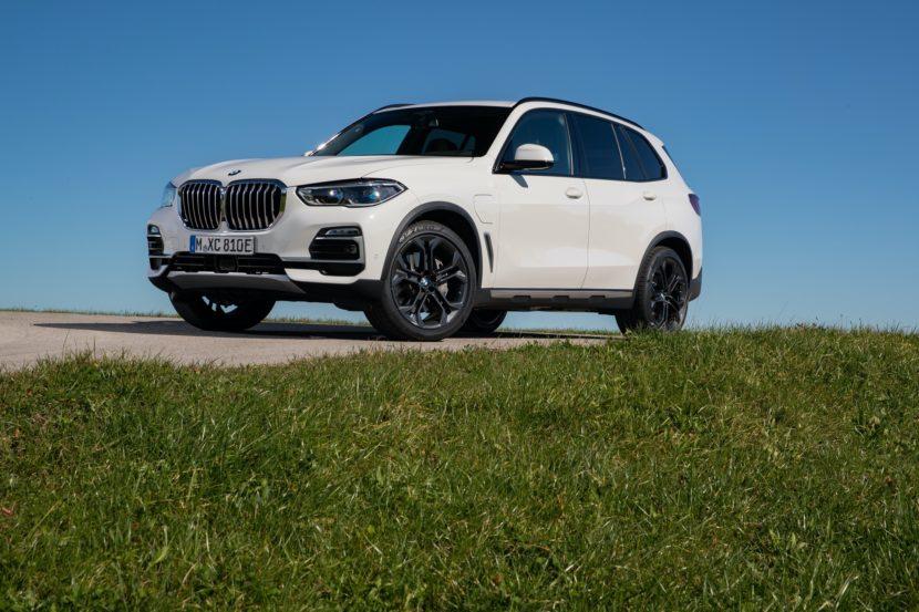 2020 BMW X5 xDrive45e test drive 55 830x553