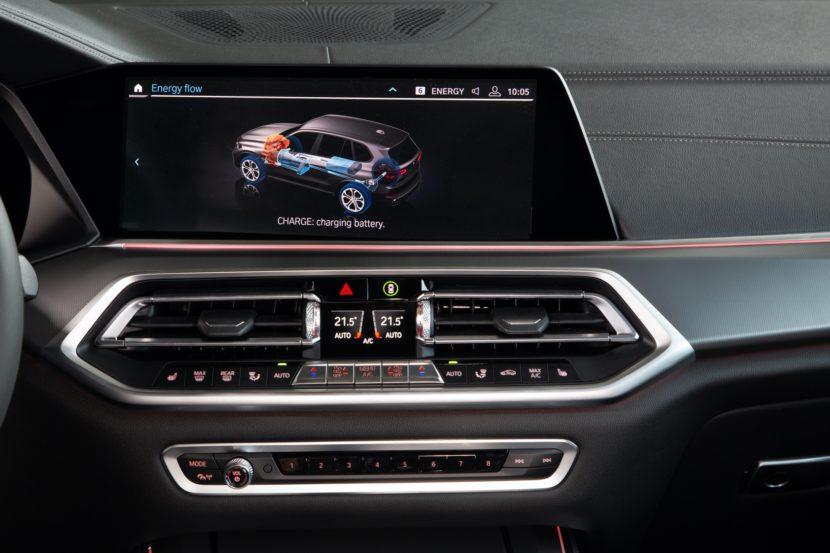 2020 BMW X5 xDrive45e test drive 87 830x553