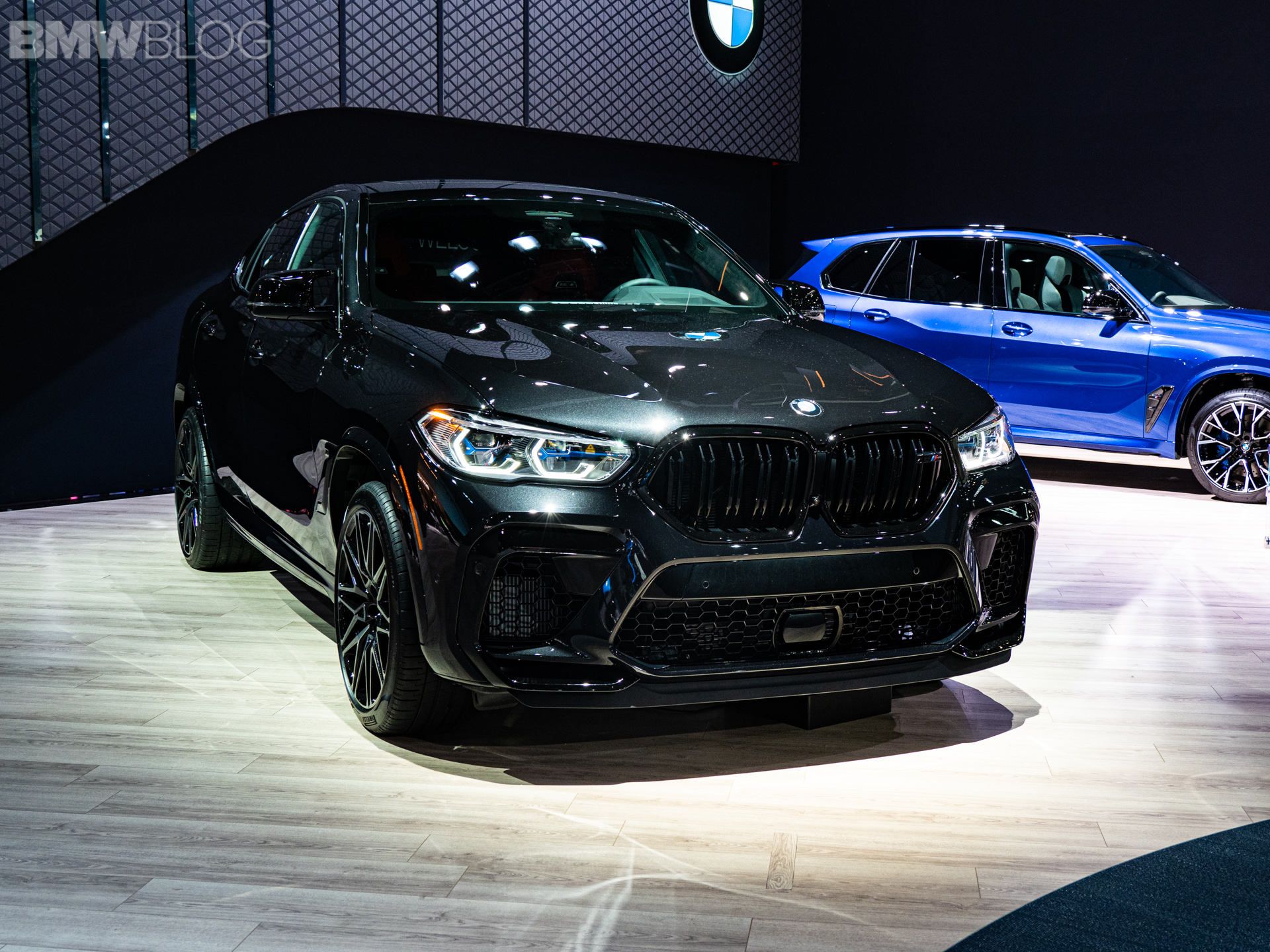 2020 BMW X6 M Competition black 1