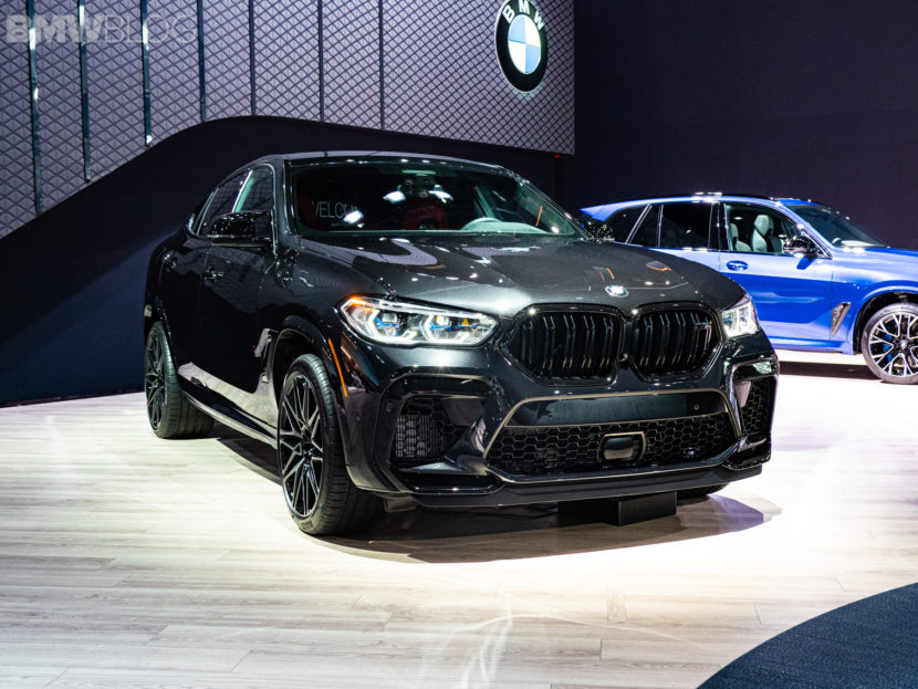 2020 BMW X6 M Competition black 2 830x623