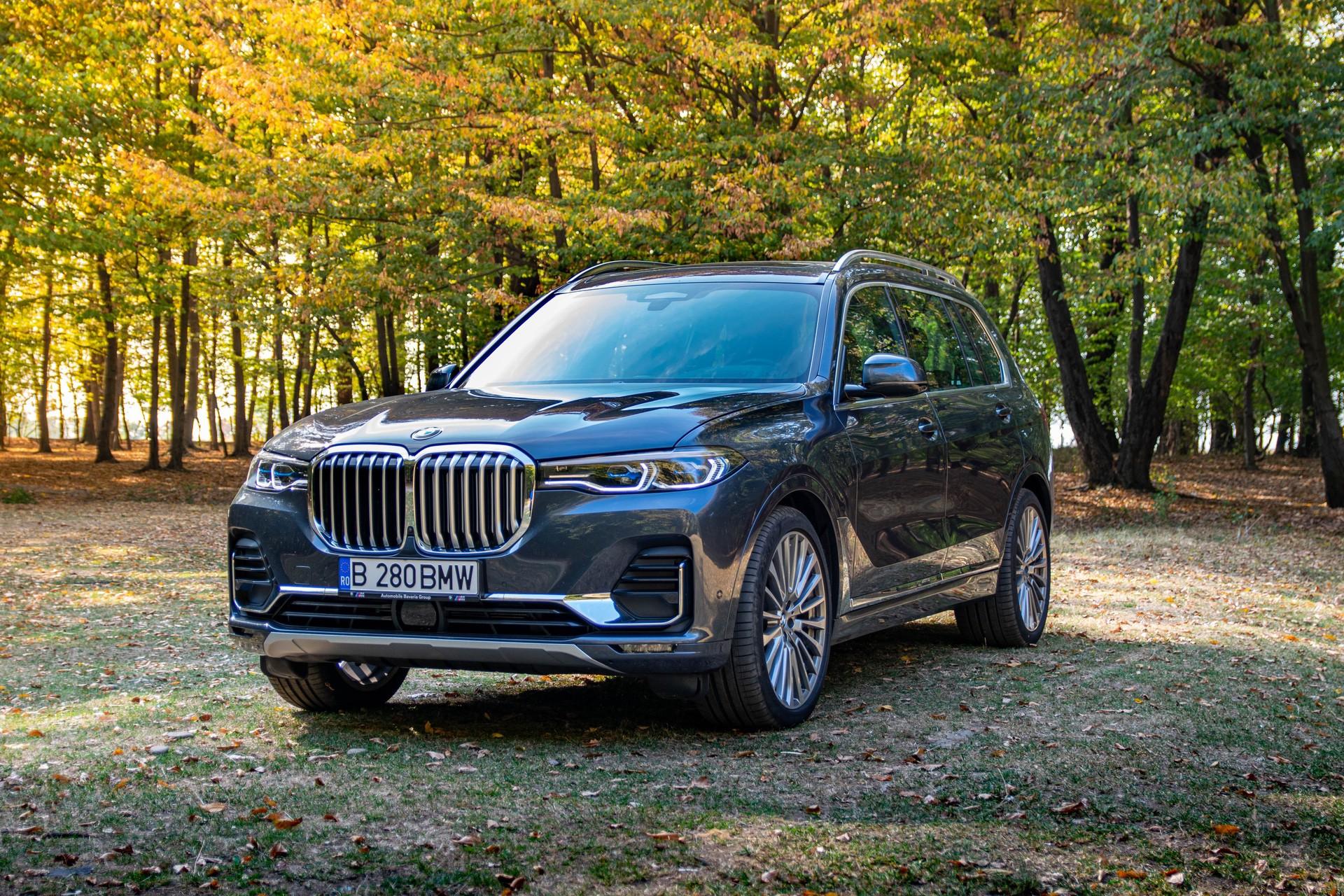 2020 BMW X7 xDrive40i test drive 0049