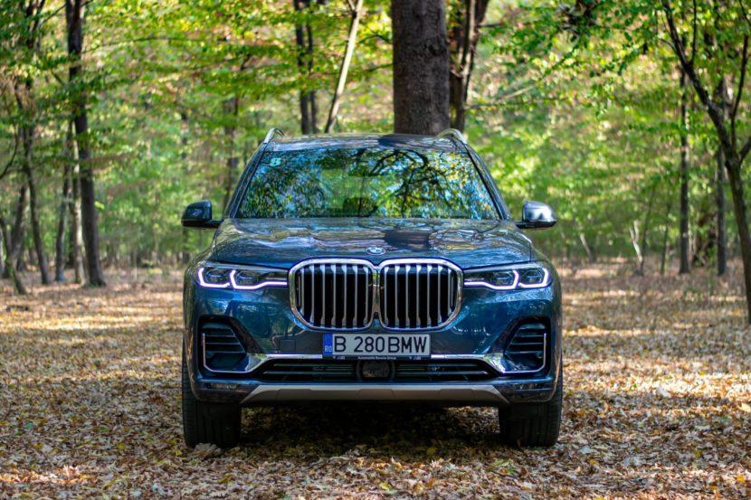 2020 BMW X7 xDrive40i test drive 0060 830x553